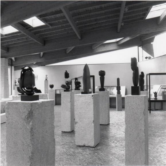Fondation de Coubertin, exposition Chauvin en 1992.